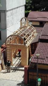 Elemente tâmplărie, mobilier - bisericuta de lemn in Bucuresti
