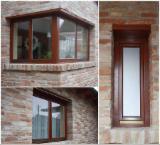 Двері, Вікна, Сходи - Європейська Деревина Твердих Порід, Вікна, Деревина Масив, Дуб