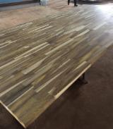 采购及销售端接板 - 免费注册Fordaq - 1 层实木面板, 崖豆木