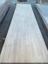 Buy And Sell Edge Glued Wood Panels - Register For Free On Fordaq - Finger Jointed Board for Worktop/ Stair Part made of Rubber Wood