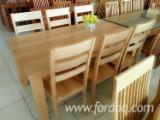 Mobili - Vendo Set Sala Da Pranzo Antiquariato Originale Latifoglie Europee Acacia