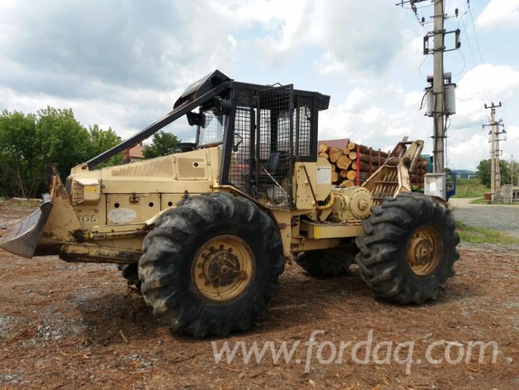 Vend-Tracteur-Forestier-FRANKLIN-405-Occasion-1999