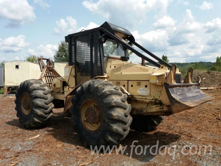 Gebraucht FRANKLIN 405 1999 Forstschlepper Rumänien