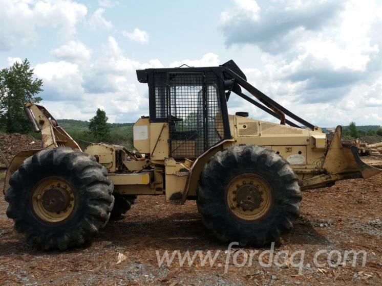 tracteur forestier franklin occasion