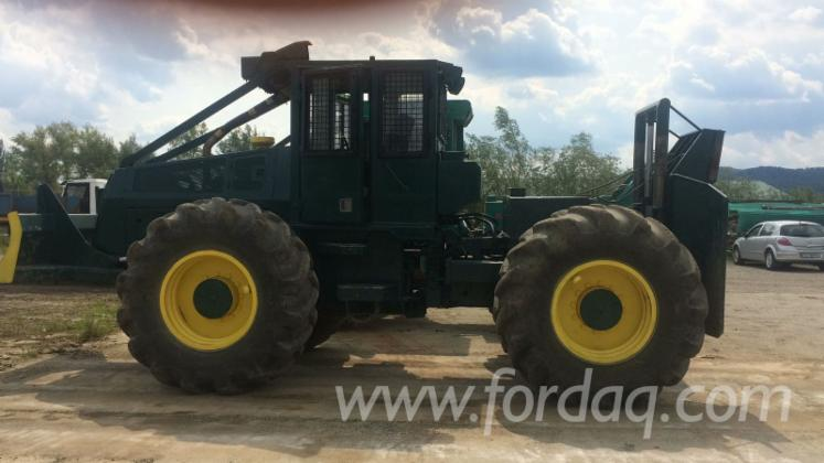 Vend-Tracteur-Forestier-FRANKLIN-560-Occasion-1995