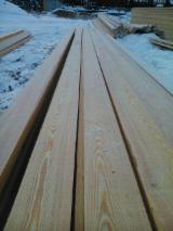 Unedged Softwood Timber - Larch Boules 32-55 mm