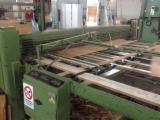 Macchine lavorazione legno - LINEA DI SFOGLIATURA A.CREMONA 2700×1400 mm con taglierina idraulica
