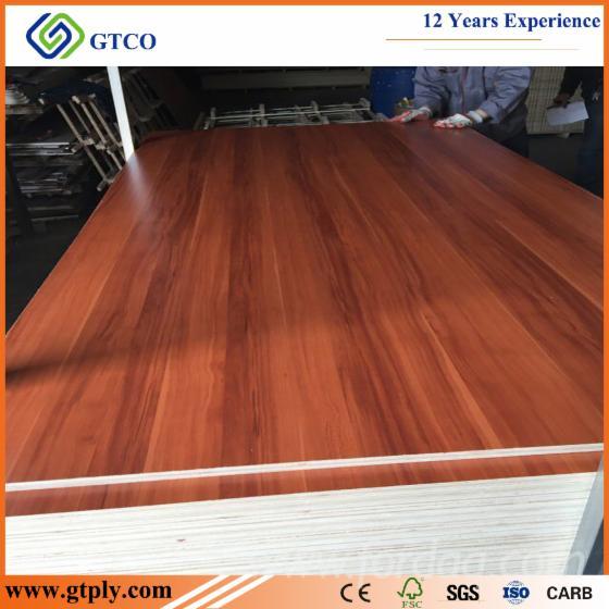 Melamine Laminated Teak Plywood