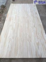 1 Schicht Massivholzplatten, Esche
