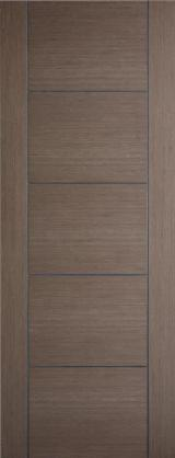 FSC Certified Finished Products - French Wooden Door, 42 x 800 x 2200 mm