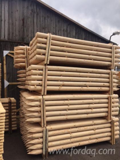 Vend piquets tuteurs pin bois rouge fsc belarus - Tuteur bois brico depot ...