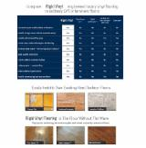 Laminate Wood Flooring - Rigid Vinyl Flooring, 6 x 181 x 1220 mm