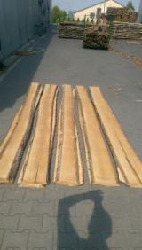 Hardwood  Unedged Timber - Flitches - Boules - KD Birch Loose Unedged Timber, 26-50 mm