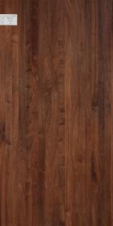 Edge Glued Panels Glued Discontinuous Stave  For Sale - Black Walnut Edge Glued Panel