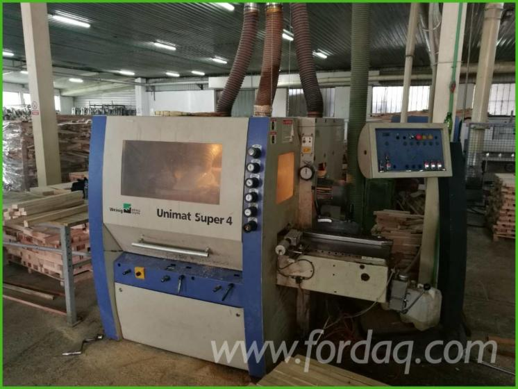 Moulding-Machines-For-Three--And-Four-side-Machining-Weinig-UNIMAT-SUPER-4-%E6%97%A7