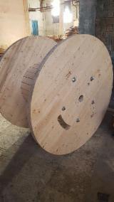 Kaufen Oder Verkaufen Holz Kabelbandspulen - Kabelbandspulen, Neu