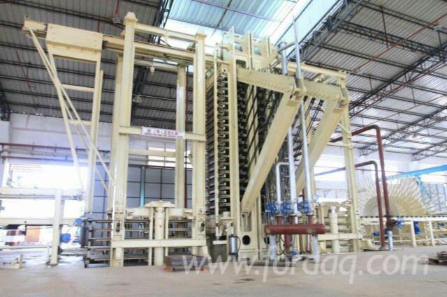Wood-Based-Panel-Particle-Board-Production