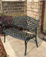 Aluminium Garden Furniture - Traditional Aluminium Garden Benches