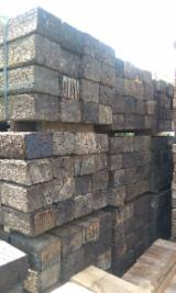 Buy Or Sell Hardwood Lumber Railway Sleepers - Reclaimed Oak Railway Sleepers 18 cm