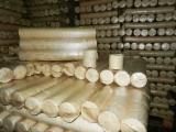 木颗粒-木砖-木炭 木砖 棕灰, 桦木, 橡木