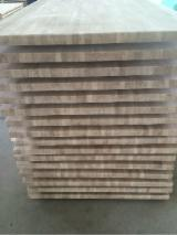 Edge Glued Panels Glued Discontinuous Stave  For Sale - Oak 1 Ply Glued Panel