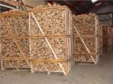 Firewood, Pellets And Residues - Quality Kiln Dried / Air Dried Birch Firewood Cleaved
