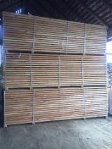 Softwood  Sawn Timber - Lumber For Sale - Larch Sawn Timber for terrase, 38 mm Thick