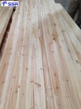 White Cedar Wood Edge Glued FJ Panels