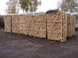 Firewood, Pellets And Residues - Quality Pine Firewood 25-33 cm in Nets and Boxes from Ukraine