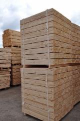 Schnittholz - Besäumtes Holz Zu Verkaufen - Buche, Birke, 55 - 120 m3 Spot - 1 Mal