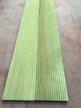 柚木, 真空干燥, 防滑地板(单面)