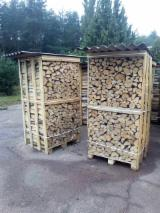 Firewood, Pellets And Residues - Birch Firewood Cleaved 5-17 cm