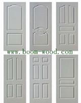 Engineered Panels For Sale - HPL White Primer Wooden Grain for Doors