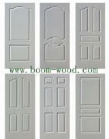 HPL White Primer Wooden Grain for Doors
