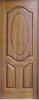 中密度纤维板(MDF), 柚木, 门皮板