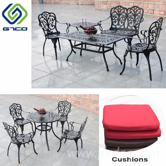 Aluminium-Garden-Chair-And-Table-Set-In-Black