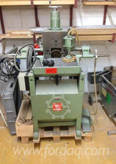 Used-Scheer-DB-12-1981-Boring-Unit-For-Sale
