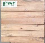 Зовнішній Декінг (настил) Для Продажу - Тікове Дерево, Терасні Дошки (Е2Е)