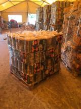 Firewood, Pellets And Residues - Birch Cleaved Firewood, KD, 25 cm