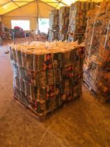 Latvia - Furniture Online market - Birch Cleaved Firewood, KD, 25 cm