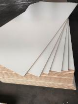Engineered Panels China - 18mm Melamine MDF For Furniture From China