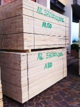 Sawn And Structural Timber Italy - Fresh Sawn Fir or Pine Edged Lumber, 20-85 mm thick