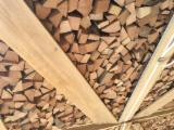 Firewood, Pellets And Residues Firewood Woodlogs Not Cleaved - KD Cleaved Beech Firewood 33 mm