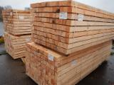 Softwood  Sawn Timber - Lumber - AD AST Softwood Beams, 69 x 69 x 3000 mm