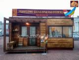 Деревянные Дома  - Двухмодульный банный дом по каркасно-щитовой технологии площадью - 31,0 кв.м.
