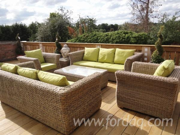 Vend-Ensemble-De-Jardin-Design-Autres-Mati%C3%A8res-Rotin--