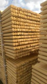 软木:原木 轉讓 - 杆, 云杉-白色木材