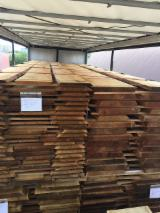 Softwood  Unedged Timber - Flitches - Boules - Fresh Siberian Larch Loose Boards, 21-50+ mm