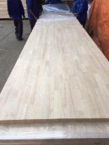 Finger Jointed Solid Wood Panels - AB/BC Rubberwood One Ply Finger Jointed Panels