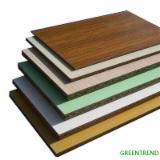 Melamine Laminated Birch Commercial Plywood